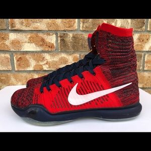 the latest fbd03 cfce0 Nike Shoes - Men s Nike Kobe 10 X Elite High American USA Red